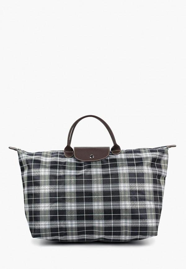 Дорожная сумка  серый цвета