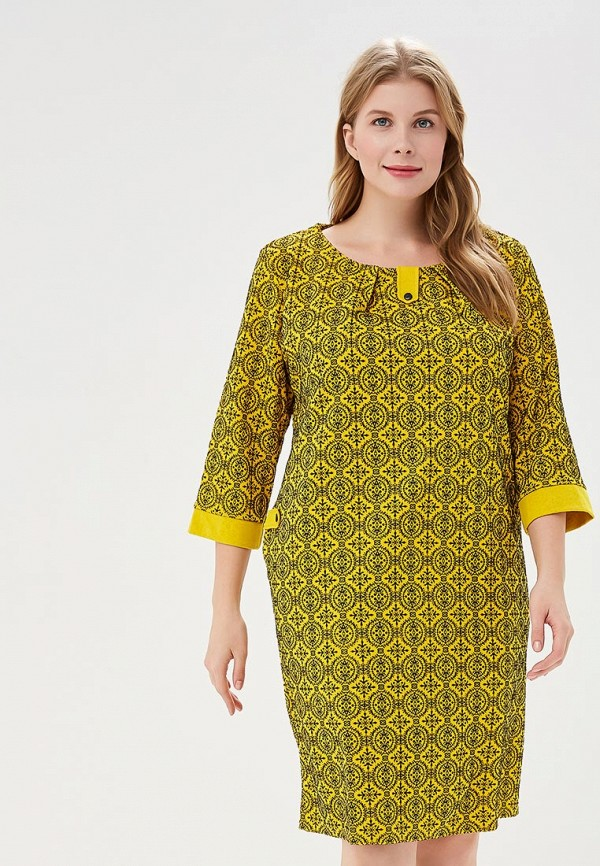 Купить Платье PreWoman, mp002xw1gv2e, желтый, Осень-зима 2018/2019