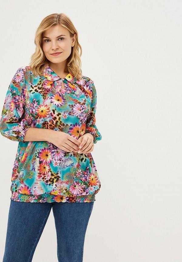 Купить Блуза PreWoman, Цветы счастья, mp002xw1gv4g, разноцветный, Осень-зима 2018/2019