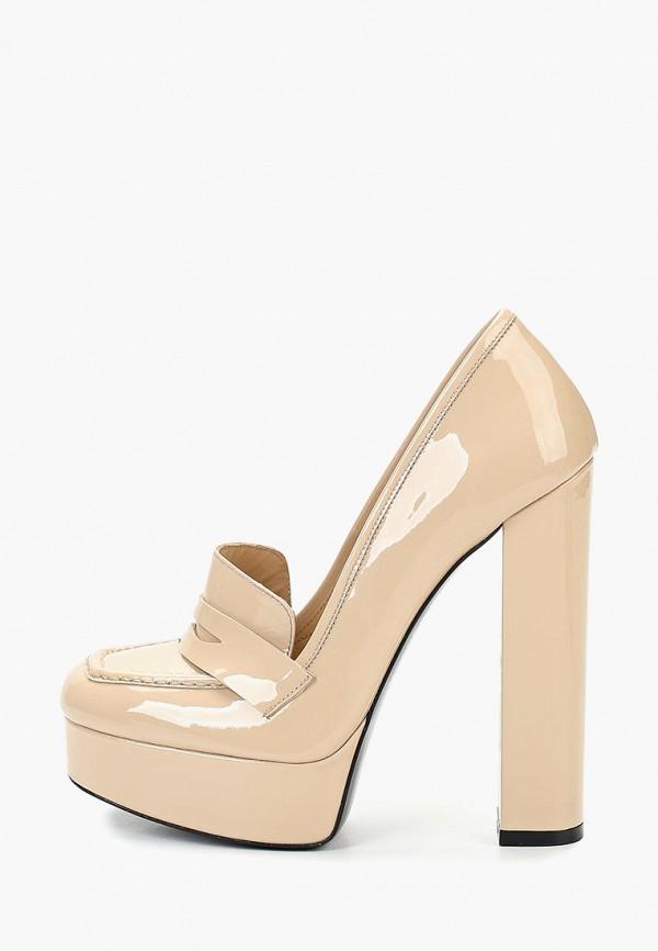 женские туфли evigi, бежевые