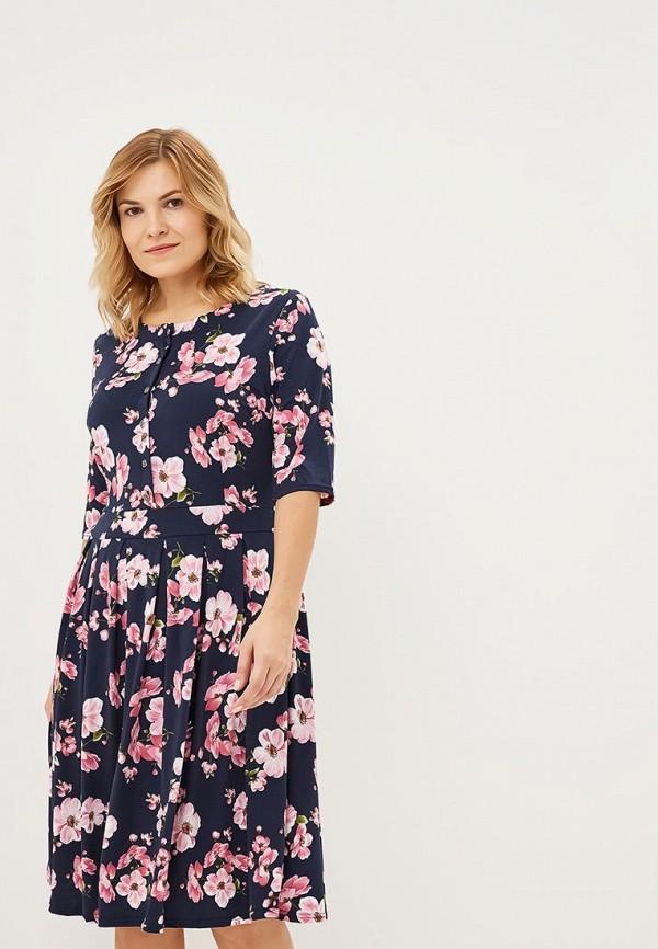 Купить Платье PreWoman, Цветущий вид 1, mp002xw1gv88, синий, Осень-зима 2018/2019