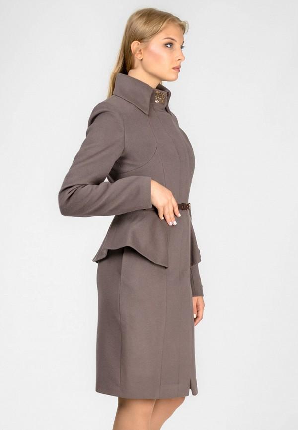 женское пальто raslov, серое