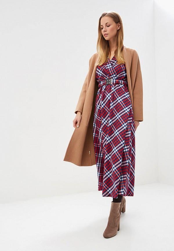женское повседневные платье bezko, красное