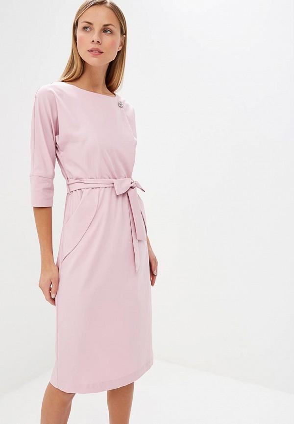 женское вечерние платье bezko, розовое