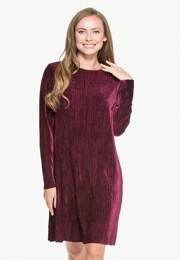 Платье Cavo, MP002XW1GVMU, бордовый, Осень-зима 2018/2019  - купить со скидкой
