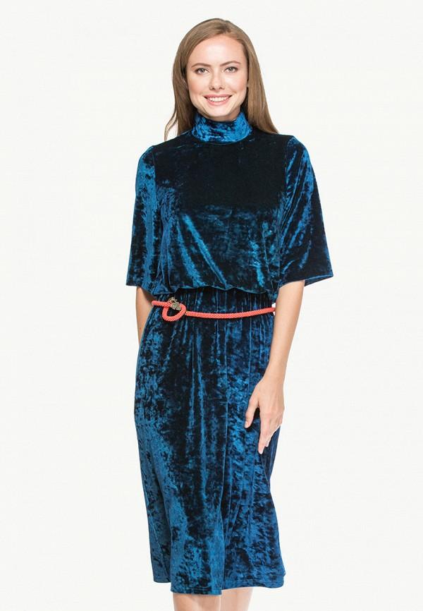 женское повседневные платье cavo, синее