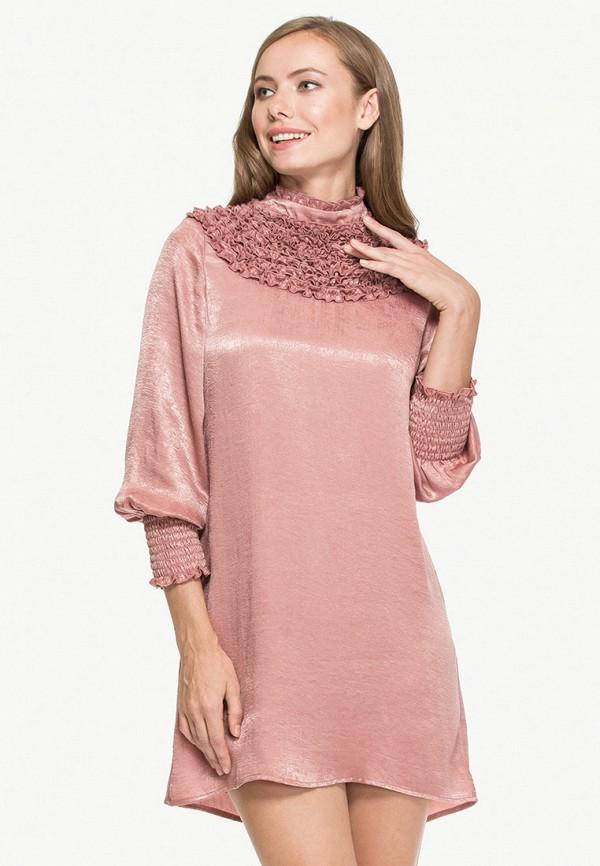 женское вечерние платье cavo, розовое