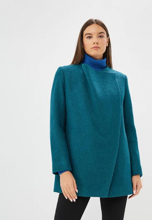 женское пальто ruxara, синее