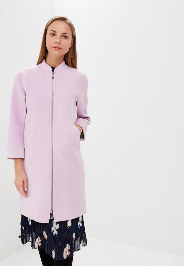 женское пальто ruxara, розовое