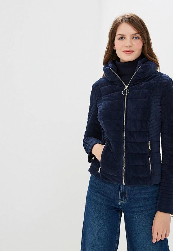 женская куртка colin's, синяя