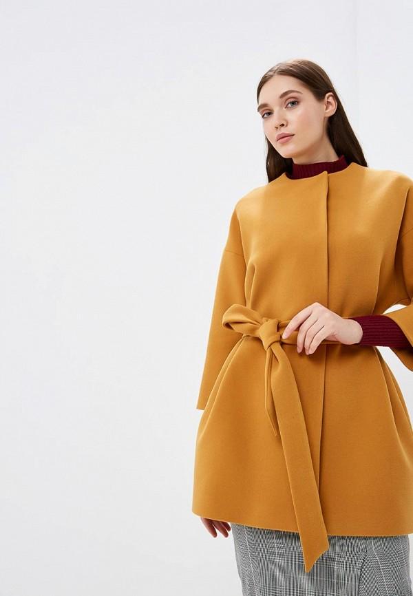 Купить Пальто Ruxara, mp002xw1gvvu, желтый, Осень-зима 2018/2019