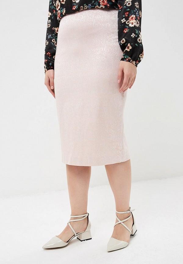 женская юбка ruxara, розовая