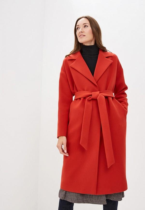 женское пальто ruxara, красное