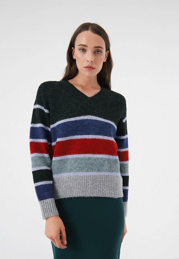 женский пуловер lime, разноцветный