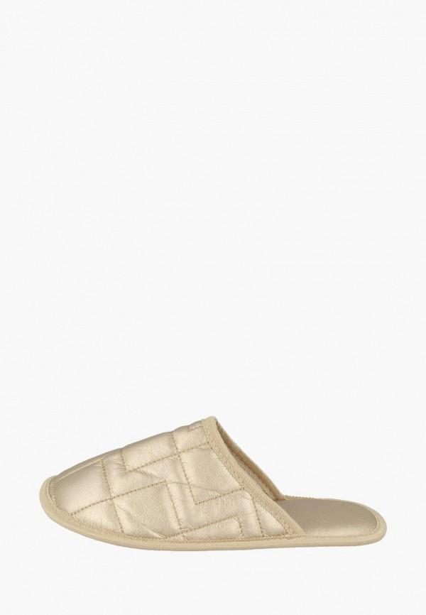 женские тапочки de fonseca, золотые