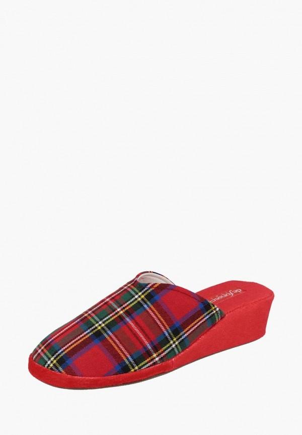 женские тапочки de fonseca, красные