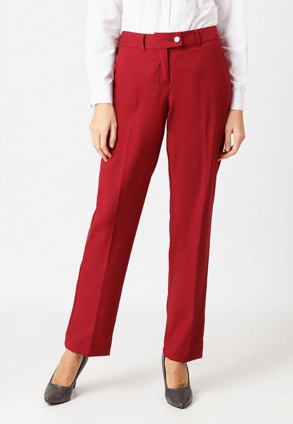 женские повседневные брюки finn flare, красные