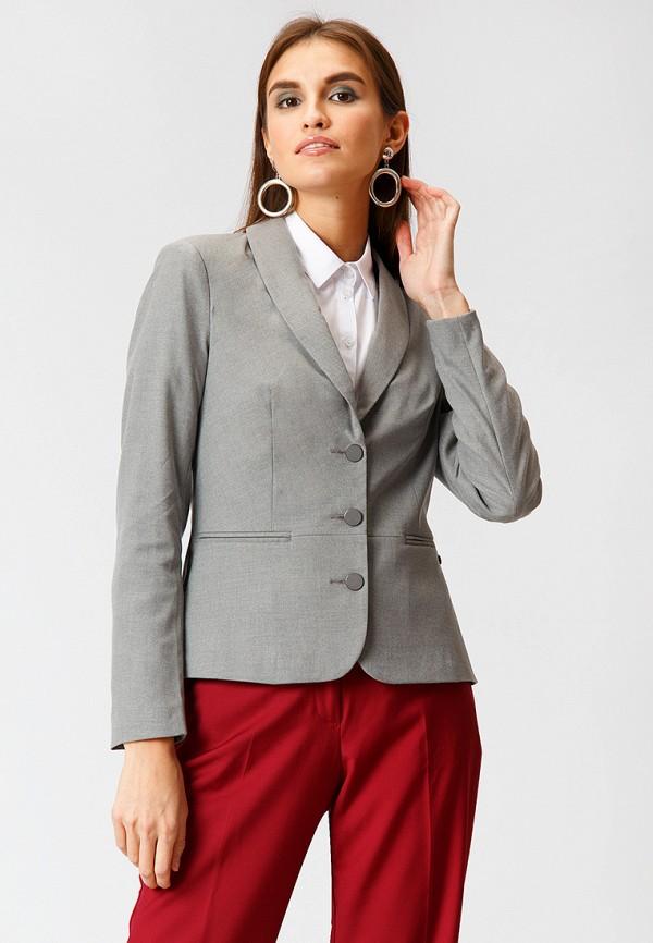 женский пиджак finn flare, серый