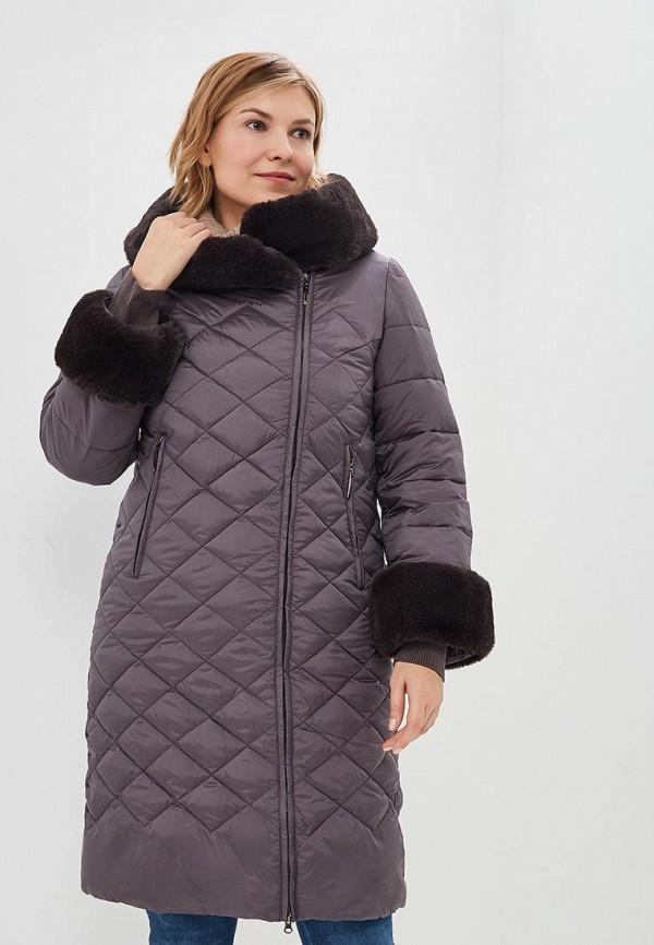женская куртка ostrich, коричневая