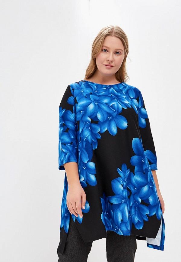 женская туника olsi, синяя