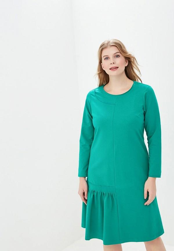 женское повседневные платье berkline, зеленое