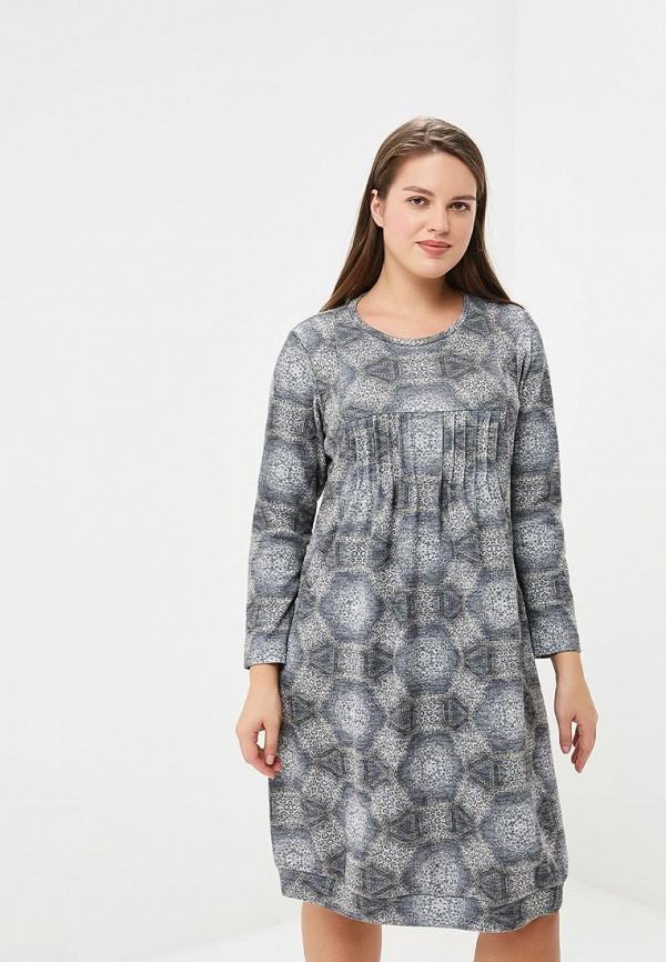 женское повседневные платье berkline, серое