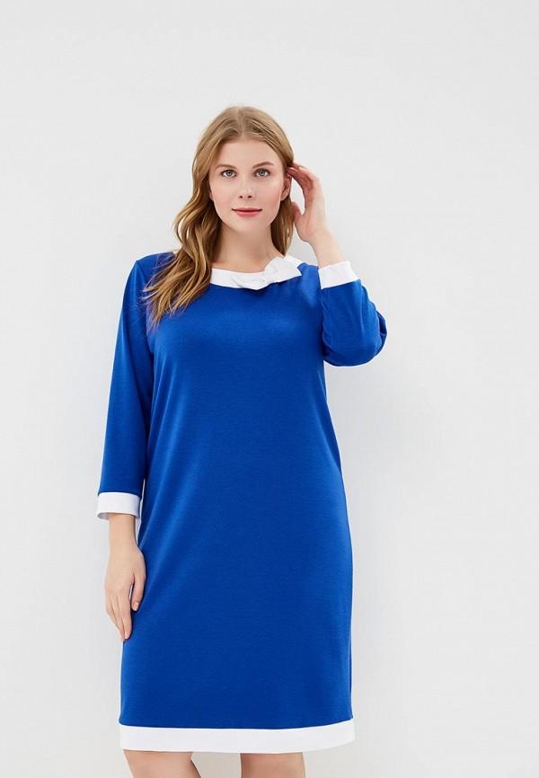 Купить Платье PreWoman, mp002xw1gwf0, синий, Осень-зима 2018/2019
