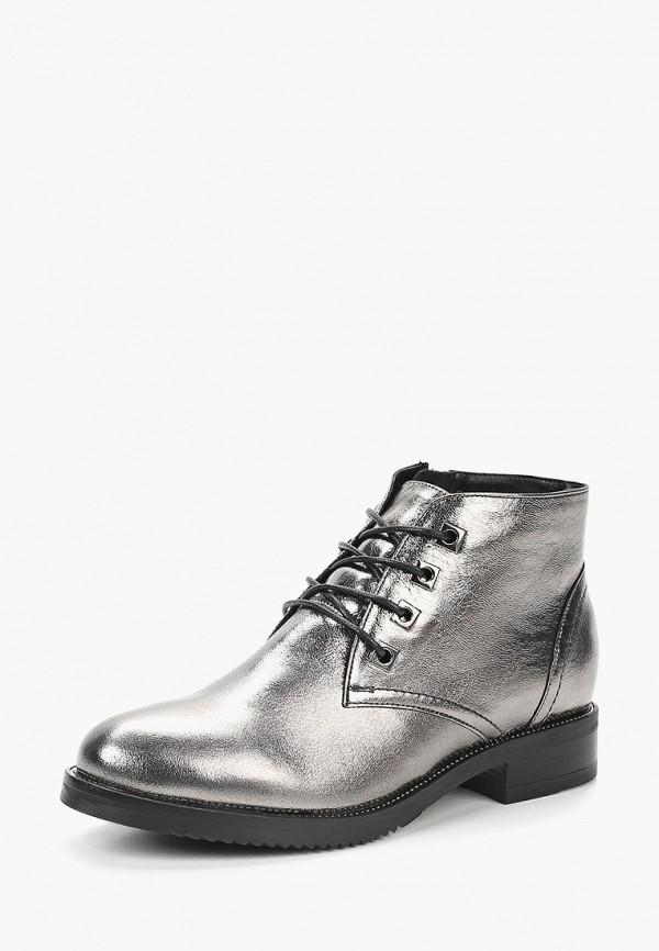 женские ботинки dolce vita, серебряные