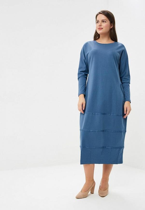 женское повседневные платье berkline, голубое