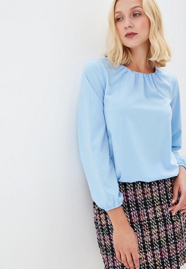 Блуза Froggi, MP002XW1GWHL, голубой, Осень-зима 2018/2019  - купить со скидкой