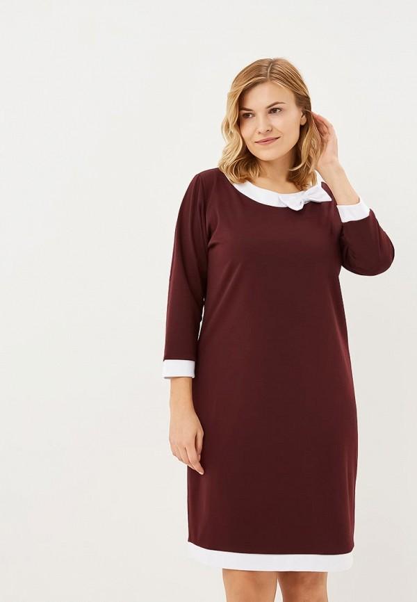 Купить Платье PreWoman, Классика, mp002xw1gwhw, бордовый, Осень-зима 2018/2019