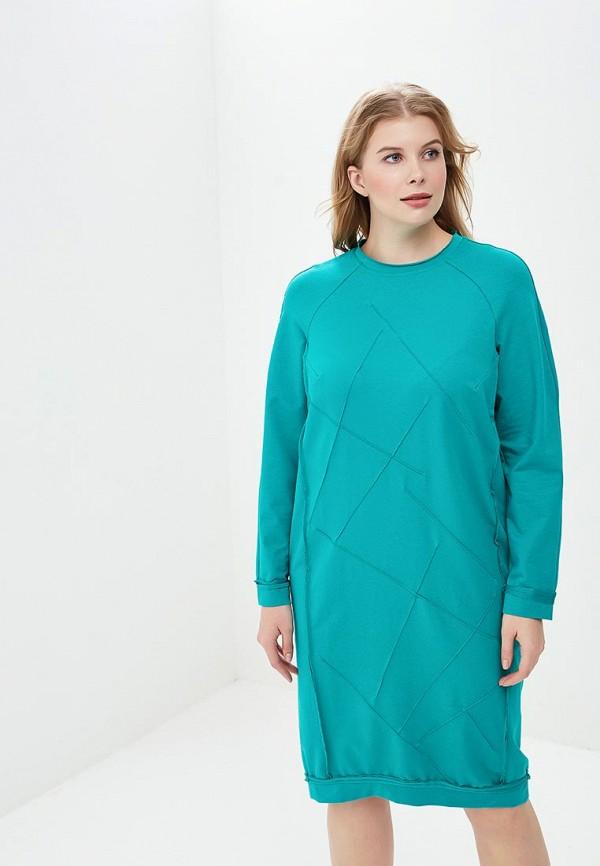 женское повседневные платье berkline, бирюзовое