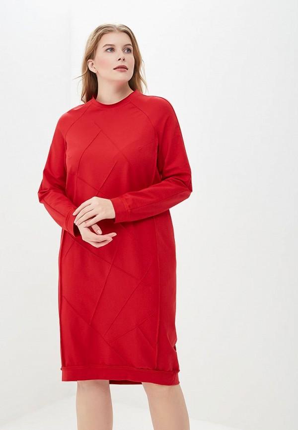 женское повседневные платье berkline, красное