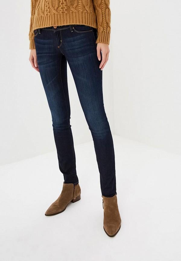 женские классические брюки colin's, синие
