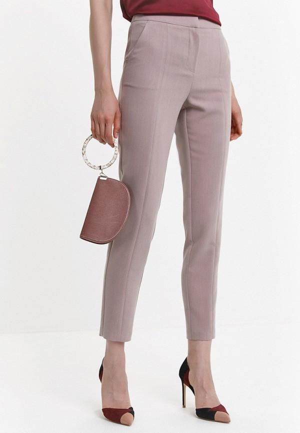 женские повседневные брюки audrey right, бежевые
