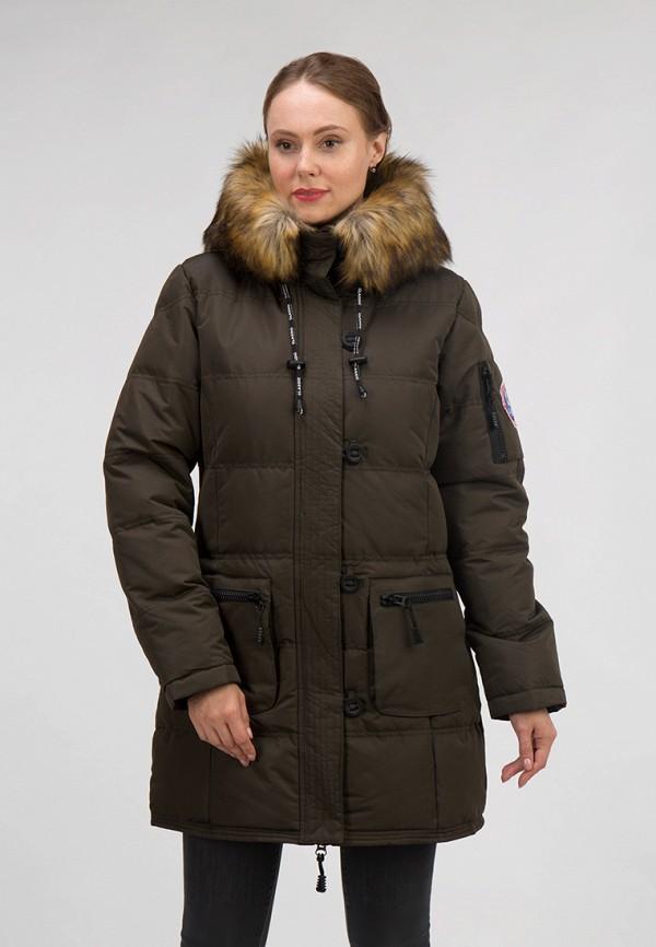женская куртка ostrich, хаки