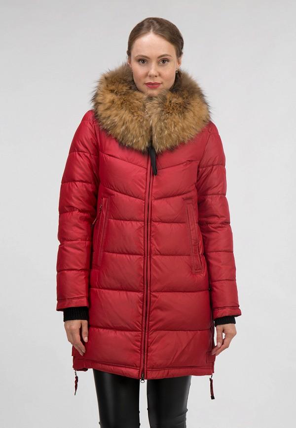 женская куртка ostrich, красная