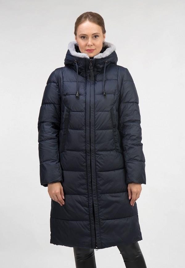 женская куртка ostrich, синяя