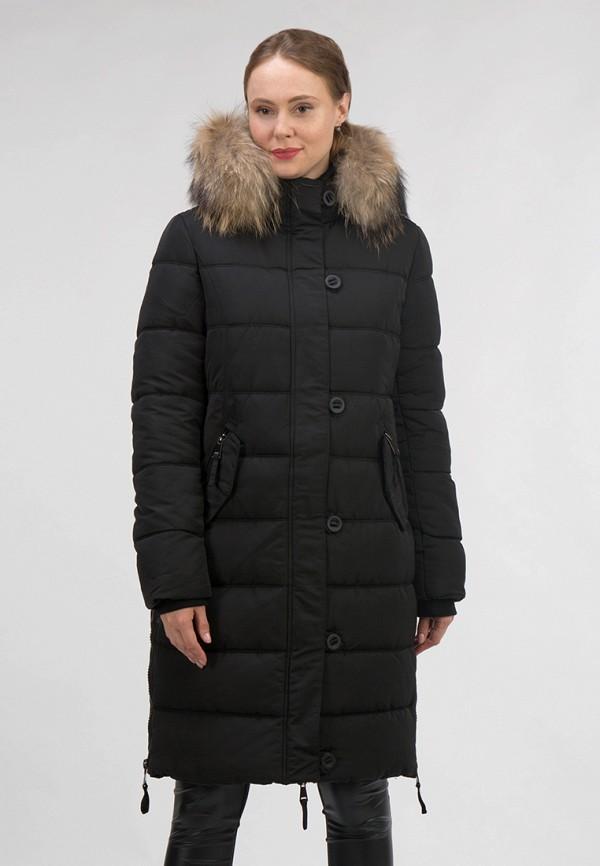 женская куртка ostrich, черная
