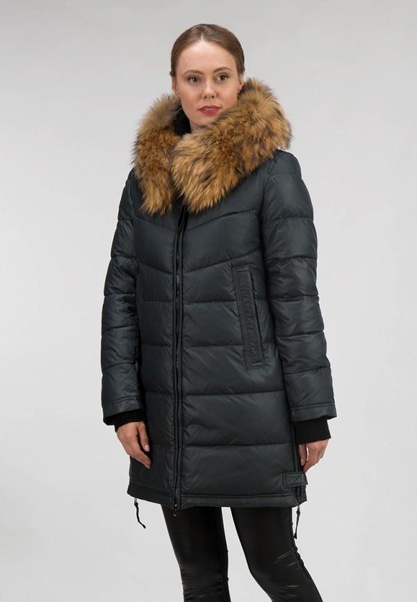 женская куртка ostrich, зеленая