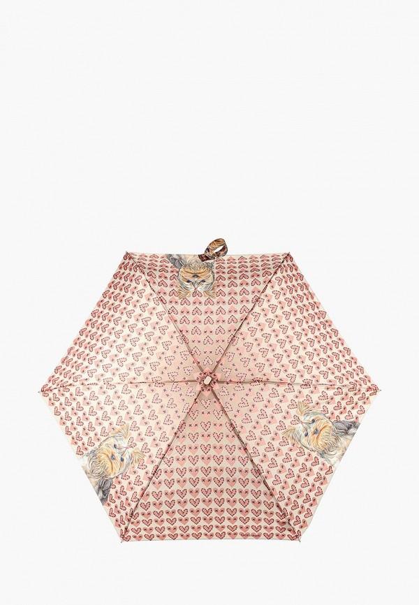 женский зонт goroshek, коричневый