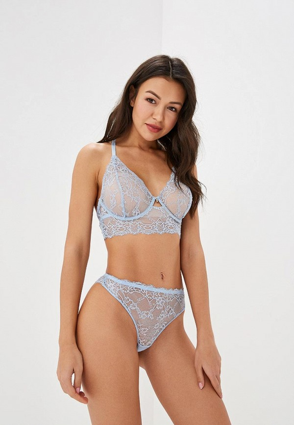 Бюстгальтер LA DEA lingerie & homewear LA DEA lingerie & homewear MP002XW1GWVC sexy white lace hem lingerie with no falsies