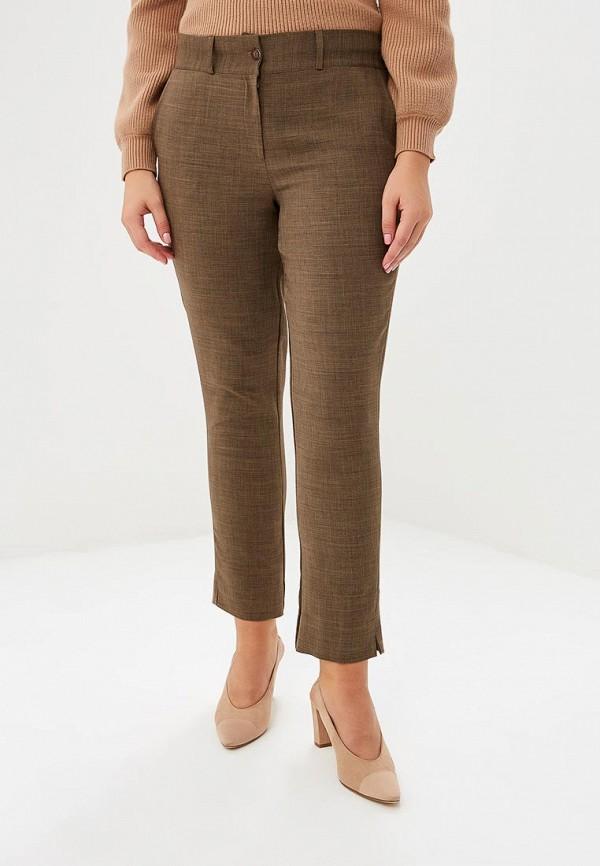 женские брюки sonett, коричневые