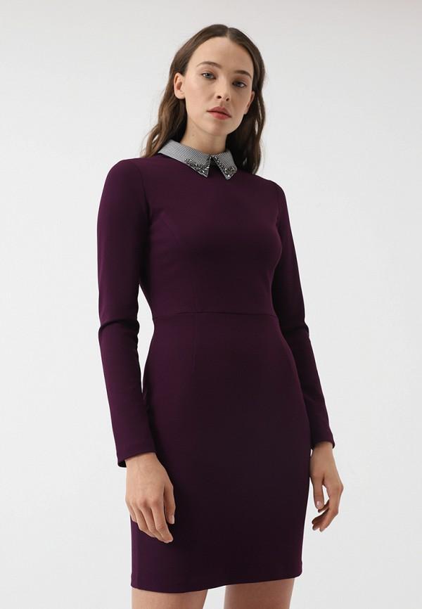 Купить Платье Lime, mp002xw1gwyg, фиолетовый, Осень-зима 2018/2019