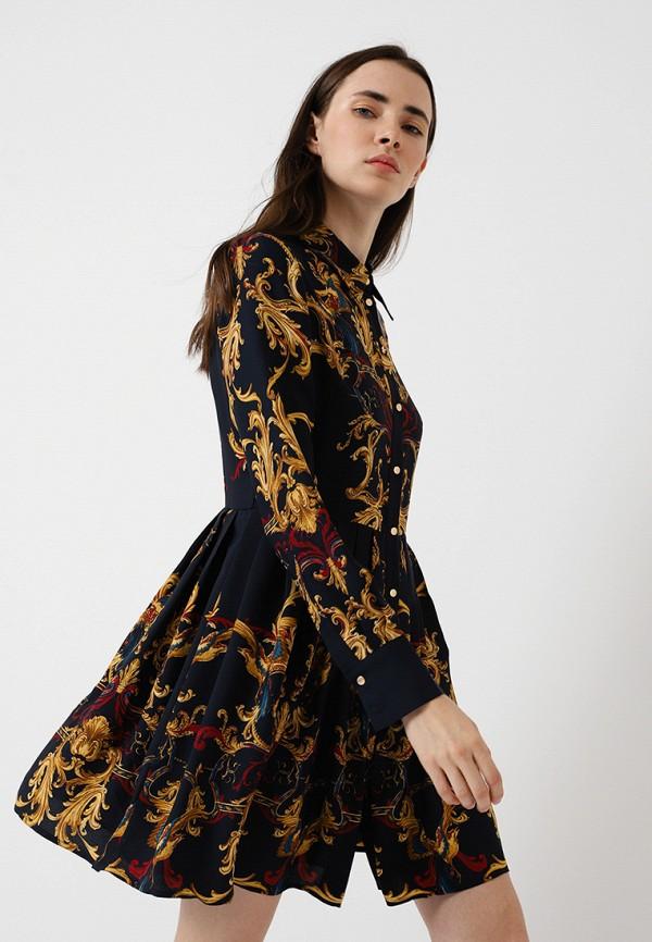 женское платье lime, черное