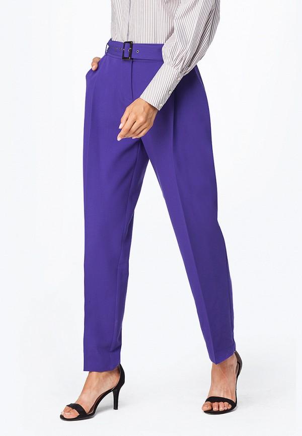 женские зауженные брюки vilatte, фиолетовые