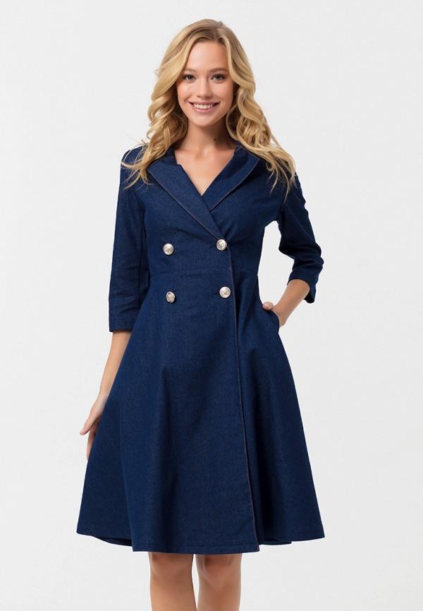 Купить Платье джинсовое Lezzarine, mp002xw1gxqo, синий, Осень-зима 2018/2019