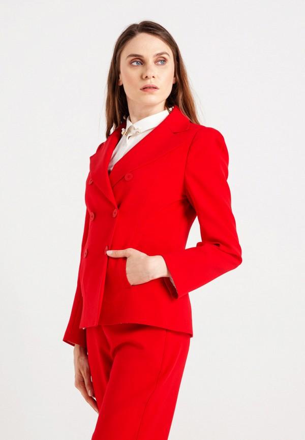 женский жакет bgn, красный