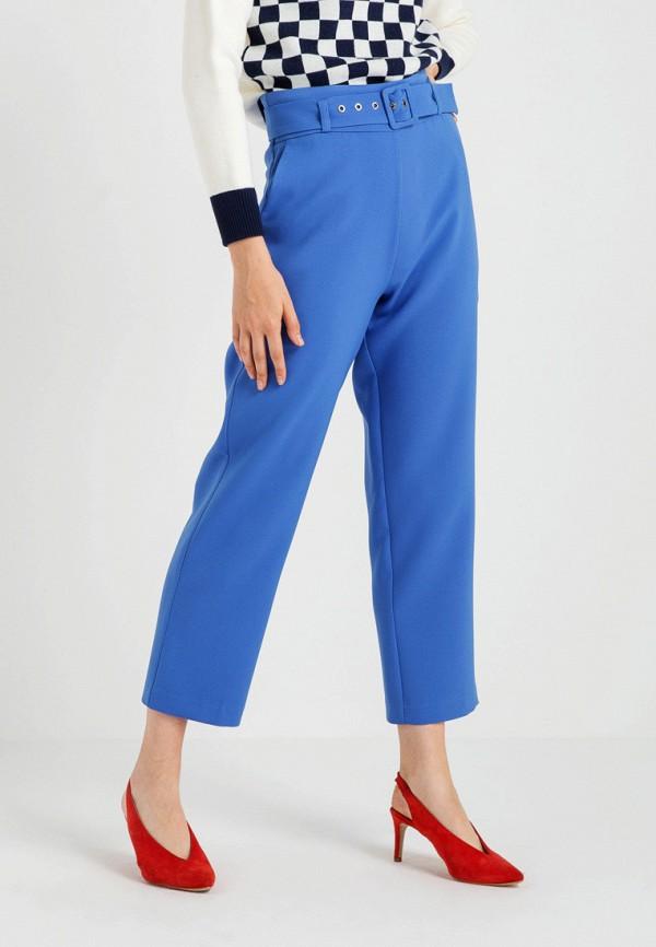 женские повседневные брюки bgn, голубые