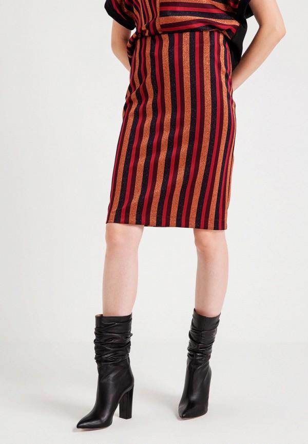 женская прямые юбка bgn, разноцветная
